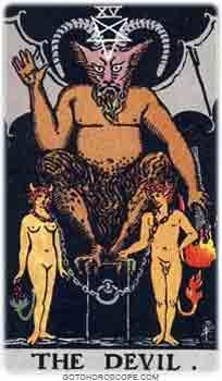 Devil Tarot Card Meanings for Major Arcana