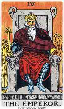 Emperor Tarot Card Meanings for Major Arcana