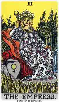Empress Tarot Card Meanings for Major Arcana