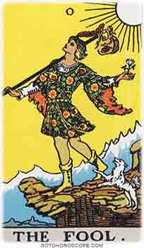 Fool Upright Tarot Card Meanings