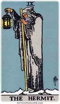 Hermit Tarot Card Meanings for Major Arcana