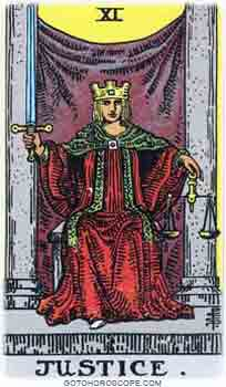 Justice Tarot Card Meanings for Major Arcana