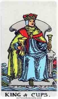 King of cups Tarot Card Meanings for Minor Arcana