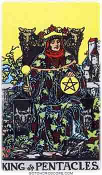King of pentacles Tarot Card Meanings for Minor Arcana