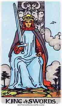 King of swords Tarot Card Meanings for Minor Arcana