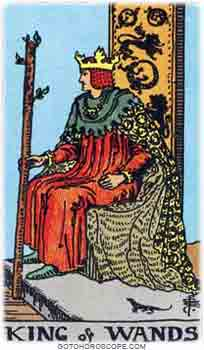 King of wands Tarot Card Meanings for Minor Arcana