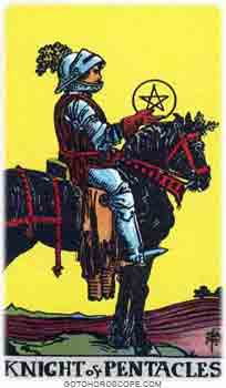 Knight of pentacles Tarot Card Meanings for Minor Arcana