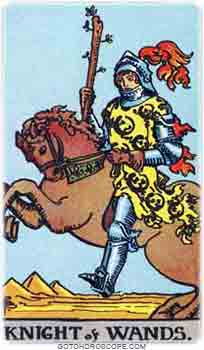 Knight of wands Tarot Card Meanings for Minor Arcana