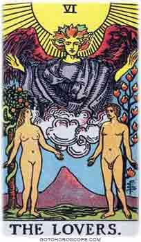 Lovers Tarot Card Meanings for Major Arcana