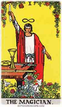 Magician Upright Tarot Card Meanings