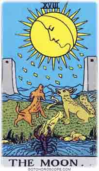 Moon Upright Tarot Card Meanings