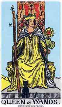Queen of wands Tarot Card Meanings for Minor Arcana