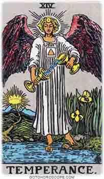 Temperance Tarot Card Meanings for Major Arcana