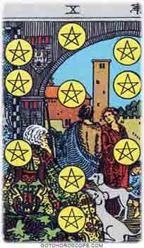 Ten of pentacles Tarot Card Meanings for Minor Arcana