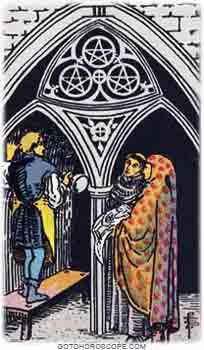 Three of pentacles Tarot Card Meanings for Minor Arcana