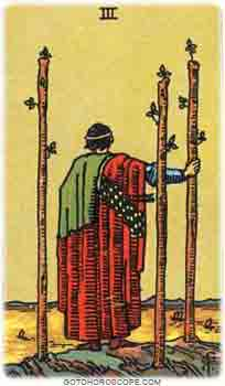 Three of wands Tarot Card Meanings for Minor Arcana