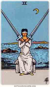Two of swords Tarot Card Meanings for Minor Arcana