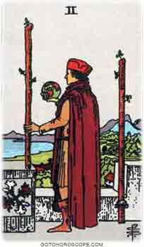 Two of wands Tarot Card Meanings for Minor Arcana