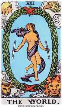 World Tarot Card Meanings for Major Arcana