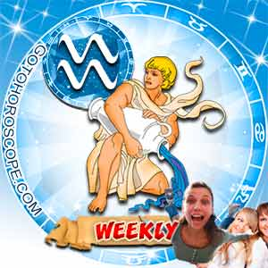 Weekly Horoscope for Aquarius image