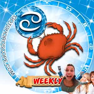 Weekly Horoscope for Cancer image