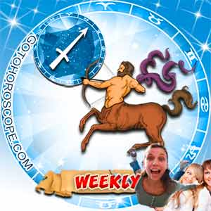 Weekly Horoscope for Sagittarius image