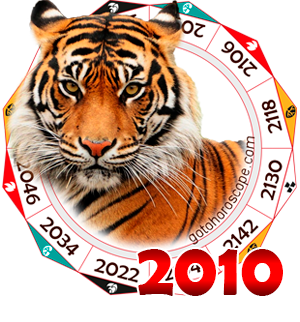 Oriental 2010 Horoscope for the Tiger year