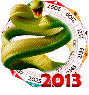 Oriental 2013 Horoscope for the Snake year