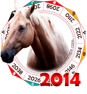 Oriental 2014 Horoscope for the Horse year