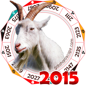 Oriental 2015 Horoscope for the Ram year