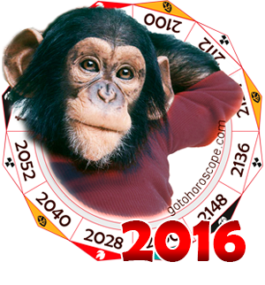 Oriental 2016 Horoscope for the Monkey year