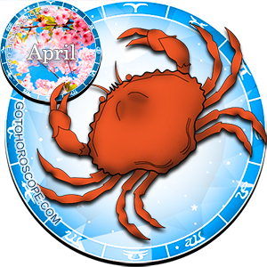 Monthly April 2012 Horoscope for Cancer