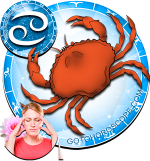 2015 Health Horoscope for Cancer Zodiac Sign