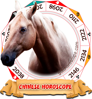 2010 Chinese Horoscope Horse for the Tiger Year