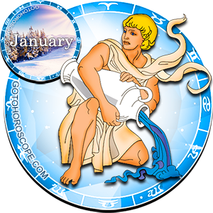 Monthly January 2012 Horoscope for Aquarius