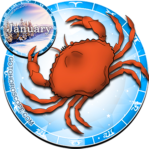 Monthly January 2012 Horoscope for Cancer