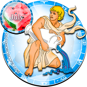 Monthly July 2016 Horoscope for Aquarius