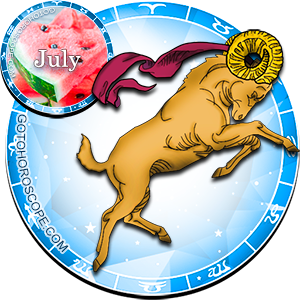 Monthly July 2013 Horoscope for Aries