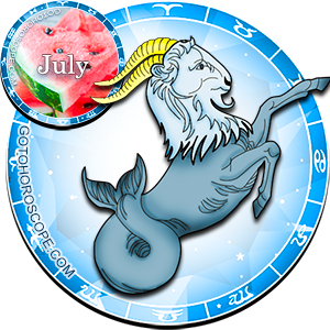 Monthly July 2012 Horoscope for Capricorn