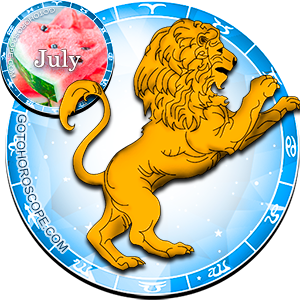 Monthly July 2012 Horoscope for Leo