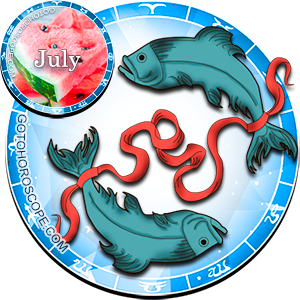 2012 July Horoscope Pisces for the Dragon Year