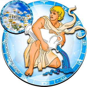 Monthly June 2012 Horoscope for Aquarius