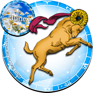 Monthly June 2015 Horoscope for Aries