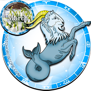 Daily Horoscope for Capricorn for March 18, 2013