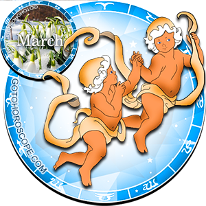Monthly March 2016 Horoscope for Gemini