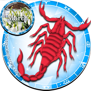 Daily Horoscope for Scorpio for March 15, 2014