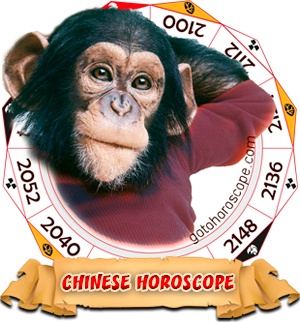 2015 Chinese Horoscope Monkey for the Ram Year