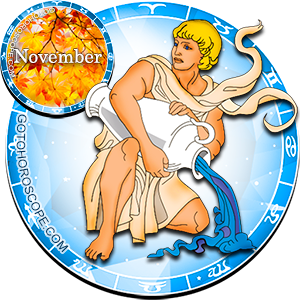 Monthly November 2014 Horoscope for Aquarius