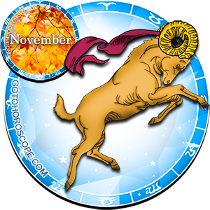 2013 November Horoscope Aries for the Snake Year