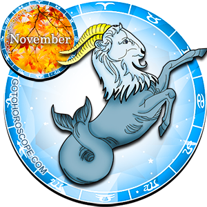 Monthly November 2014 Horoscope for Capricorn